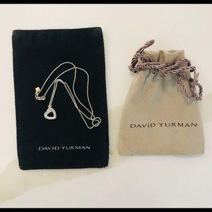 David Yurman Cable Heard Necklace